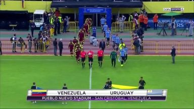 Full match: Venezuela vs Uruguay