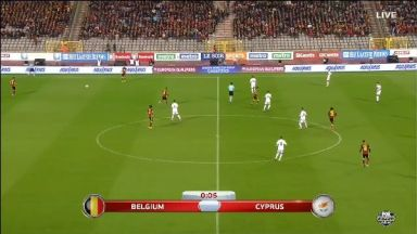 Full match: Belgium vs Cyprus