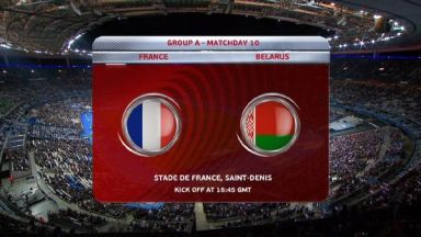 Full match: France vs Belarus
