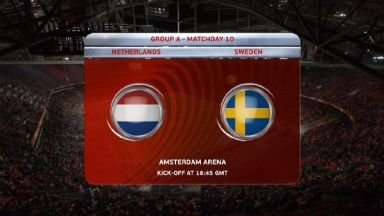 Full match: Netherlands vs Sweden