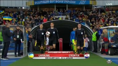 Full match: Ukraine vs Croatia