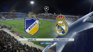 Full match: APOEL vs Real Madrid
