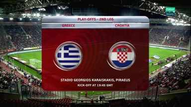 Full match: Greece vs Croatia