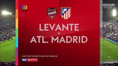Full match: Levante vs Atletico Madrid