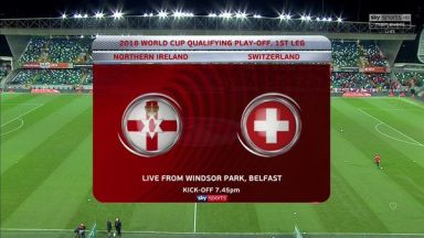 Full match: Northern Ireland vs Switzerland