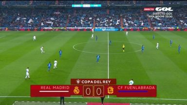 Full match: Real Madrid vs FuenlabradaFull match: Real Madrid vs Fuenlabrada