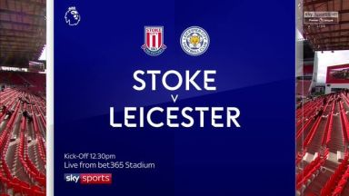 Full match: Stoke City vs Leicester City