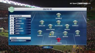 Full match: Celtic vs Anderlecht