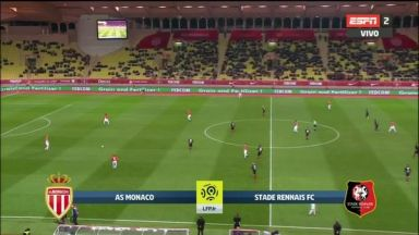 Full match: Monaco vs Rennes