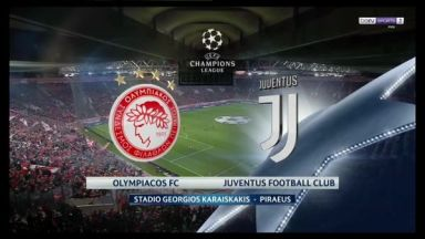 Full match: Olympiakos Piraeus vs Juventus