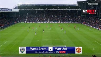 Full match: West Bromwich Albion vs Manchester United