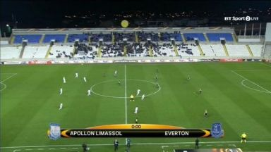Full match: Apollon vs Everton