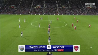 Full match: West Bromwich Albion vs Arsenal
