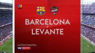 Full match: Barcelona vs LevanteLa Liga