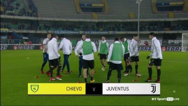 Full match: Chievo vs Juventus