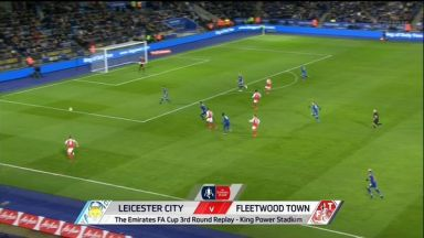 Full match: Leicester City vs Fleetwood Town
