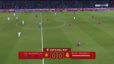 Full match: Numancia vs Real Madrid
