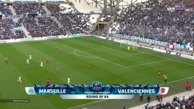 Full match: Olympique Marseille vs Valenciennes