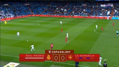Full match: Real Madrid vs Numancia