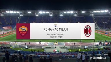 Full match: AS Roma vs AC Milan