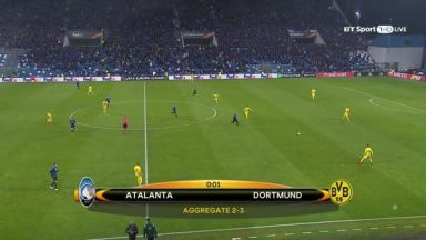 Full match: Atalanta vs Borussia Dortmund