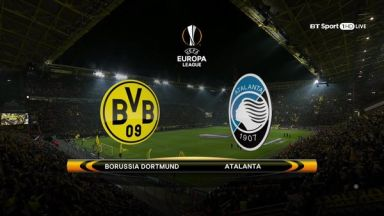 Full match: Borussia Dortmund vs Atalanta