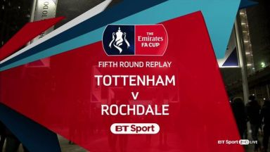 Full match: Tottenham Hotspur vs Rochdale