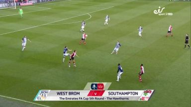 Full match: West Bromwich Albion vs Southampton