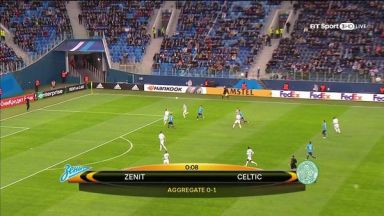 Full match: Zenit vs Celtic