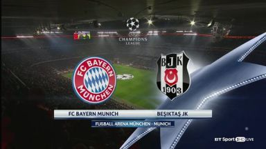 Full match: Bayern Munich vs Besiktas