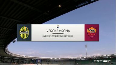 Full match: Hellas Verona vs Roma
