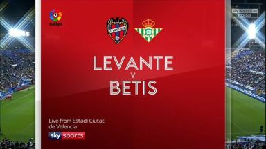Full match: Levante vs Real Betis