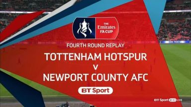 Full match: Tottenham Hotspur vs Newport County