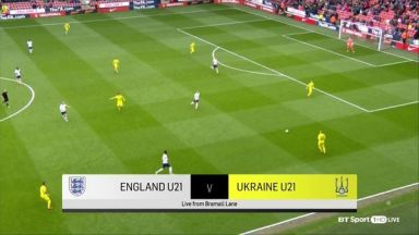 Full match: England U21 vs Ukraine U21