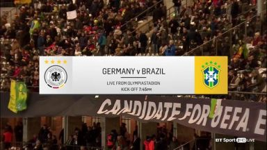 Full match: Germany vs Brazil