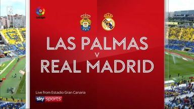 Full match: Las Palmas vs Real Madrid