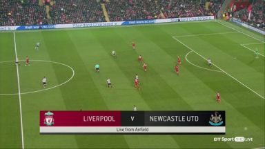 Full match: Liverpool vs Newcastle United