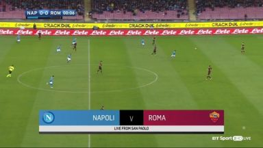 Full match: Napoli vs AS Roma