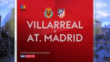 Full match: Villarreal vs Atletico Madrid