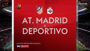 Full match: Atletico Madrid vs Deportivo La Coruna
