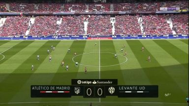 Full match: Atletico Madrid vs Levante