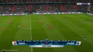 Full match: Caen vs PSG