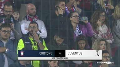 Full match: Crotone vs Juventus