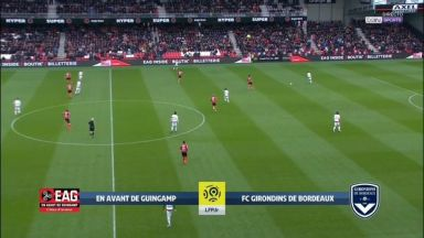 Full match: Guingamp vs Bordeaux