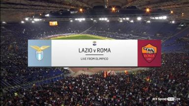Full match: Lazio vs Roma