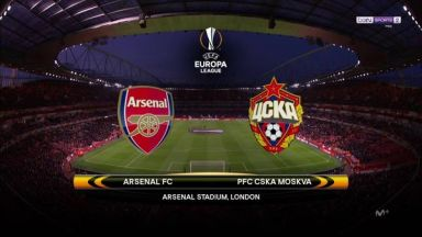 Full match: Arsenal vs CSKA Moskva