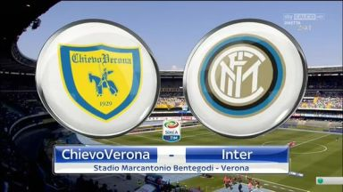Full match: Chievo vs Inter Milan