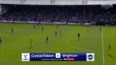 Full match: Crystal Palace vs Brighton & Hove Albion