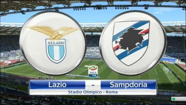 Full match: Lazio vs Sampdoria