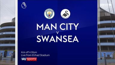 Full match: Manchester City vs Swansea City